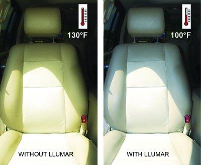 windows tint services for Llumar Effect