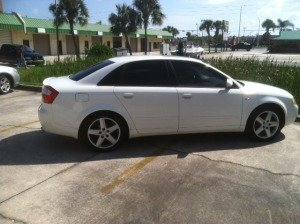 windows tint services for White Car